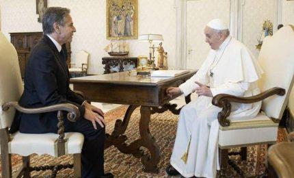 Il Papa riceve Blinken, svolta dopo Trump ma resta il nodo Cina