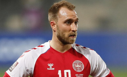 Danimarca-Finlandia 0-1, decide Joel Pohjanpalo. Eriksen sta bene