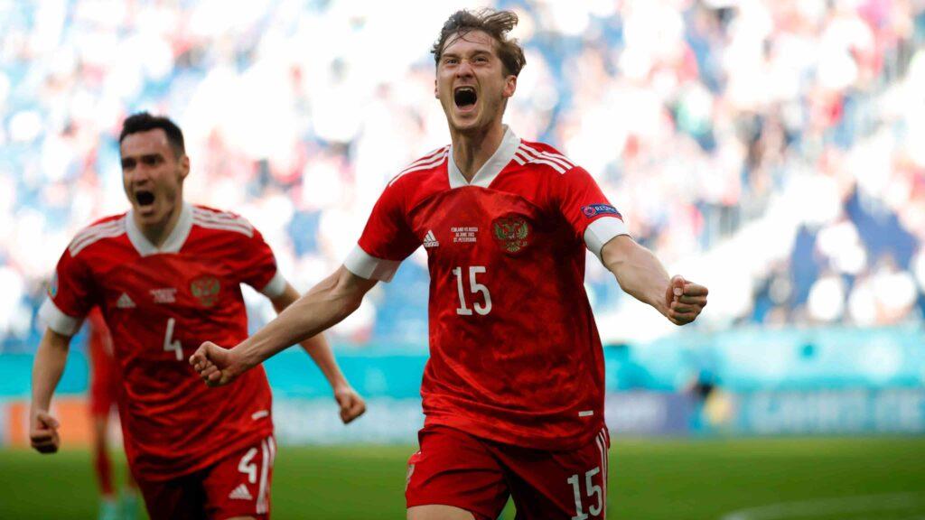 Danimarca-Russia 4-1: i russi eliminati