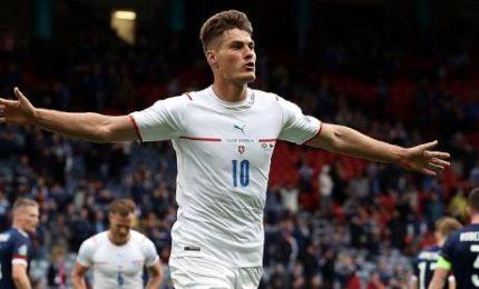 Scozia-Repubblica Ceca 0-2: Schick doppietta spettacolo