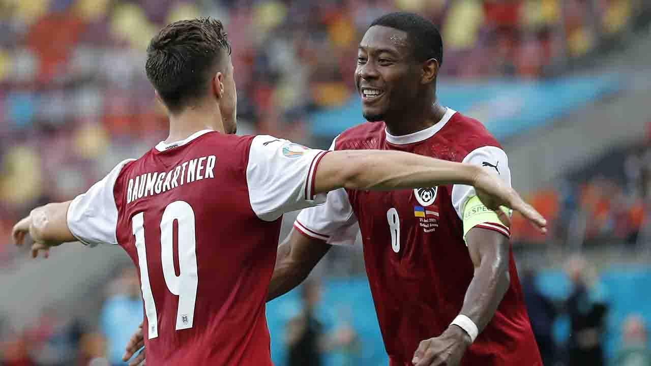 Ucraina-Austria 0-1, Baumgartner regala ai suoi l'Italia