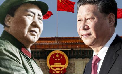 Celebrazione per i 100 anni del PCC. Xi Jinping come Mao Zedong