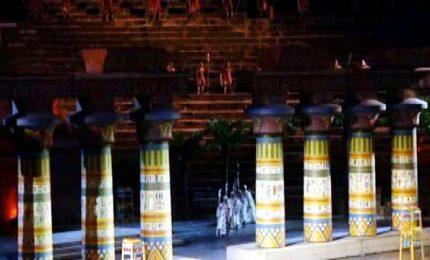 Sono tornate le 67 Colonne per l'Arena di Verona