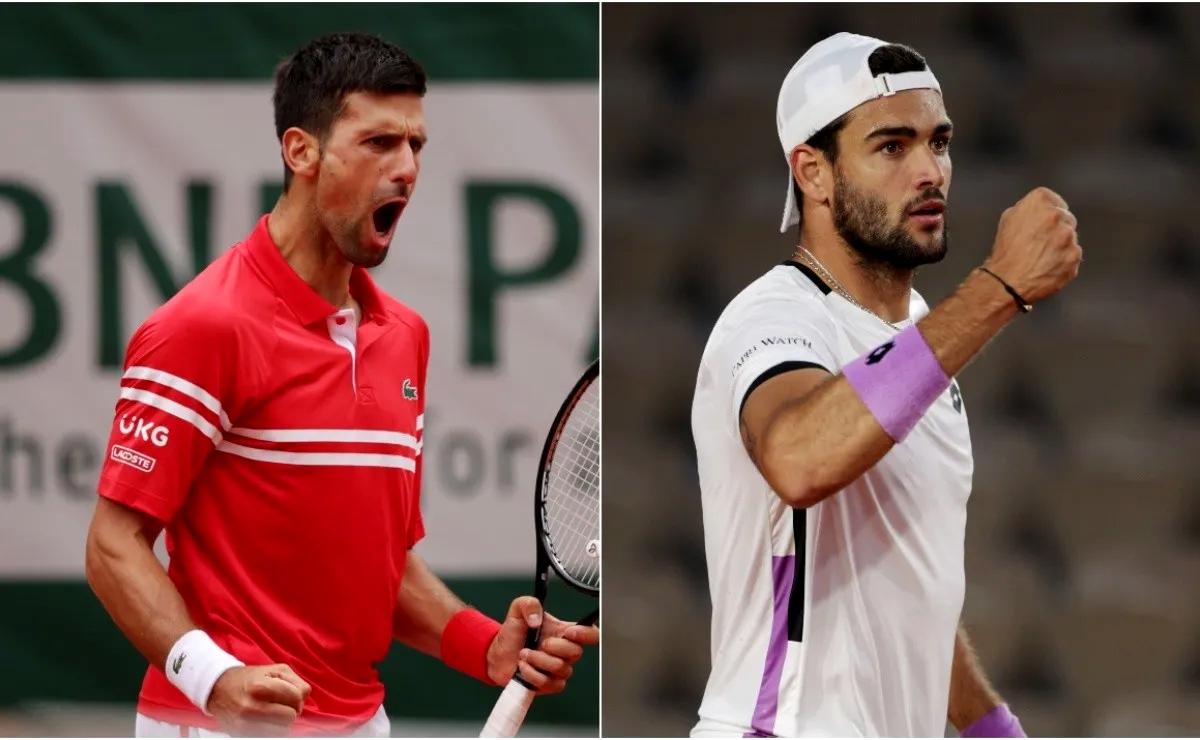 Roland Garros: Berrettini si arrende, Djokovic in semifinale