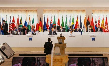 Neutralità climatica e Fame Zero: c'è l'intesa dei ministri Esteri del G20 a Matera