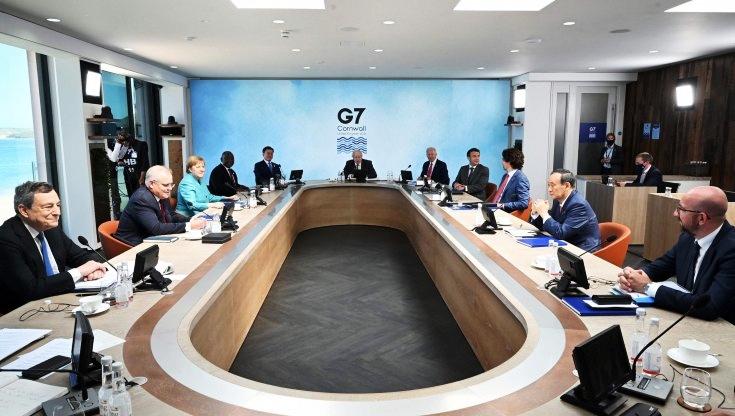 G7, Draghi: ora accordo ambizioso su clima e ambiente