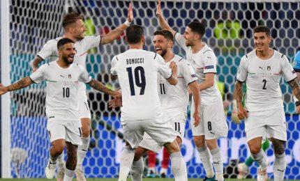 """Italia-Turchia 3-0, Immobile e Insigne lanciano gli azzurri. Mancini: """"Era importante iniziare bene"""""""