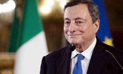 Draghi: obiettivo investire 7 miliardi per parità di genere entro il 2026
