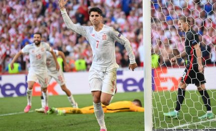 Croazia-Spagna 3-5, Furie Rosse ai quarti dopo i supplementari