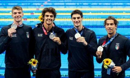Tokyo 2020, nuoto: la staffetta 4x100 stile libero è nella storia (argento)