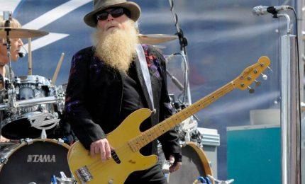 ZZ Top, è morto il bassista Dusty Hill