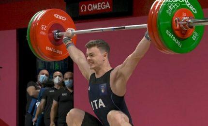 Tokyo 2020, Mirko Zanni bronzo nel sollevamento pesi