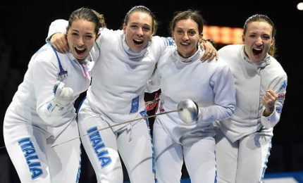 Tokyo2020, Spada femminile di bronzo contro la Cina