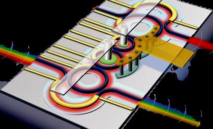 Polimi: ecco il chip ottico che indirizza dati della banda larga