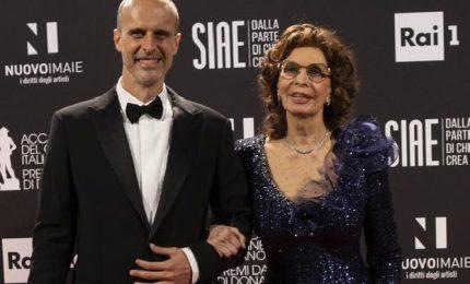 Sophia Loren al figlio: abbiamo emozionato milioni di persone