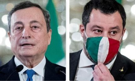 Draghi stoppa Salvini: governo va avanti, verso obbligo vaccini