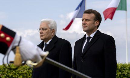 Mattarella da Macron, per un asse Francia-Italia più forte in Europa