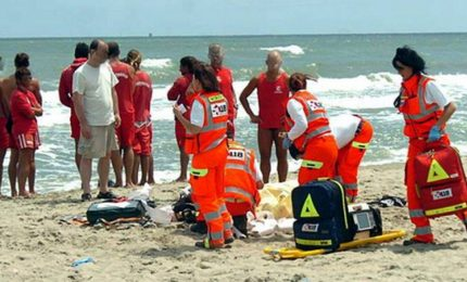 Tragedia in Puglia: giovane coppia annega in mare a Otranto