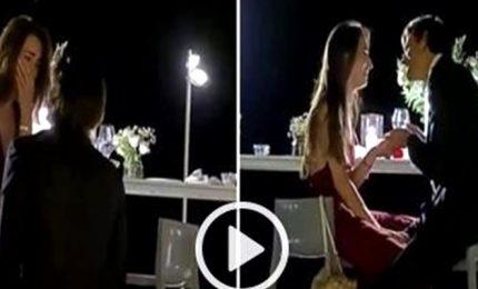 Proposta di nozze di Gianmarco Tamberi prima di partire per Tokyo