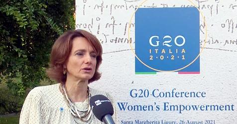 Al via il G20 sulle donne, si parla di Afghanistan e lavoro