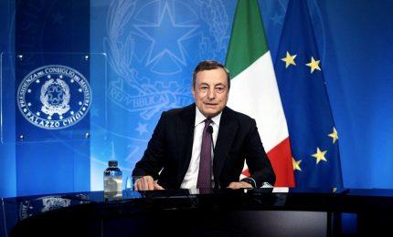 Draghi: pandemia acuisce disparità, fare di più per i Paesi poveri