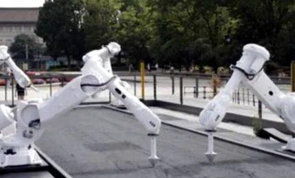 A Tokyo gli atleti olimpici ispirano il giardino zen robotico