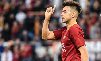 Roma-Sassuolo 2-1, la squadra di Mou in testa