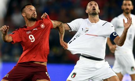 La Svizzera blocca l'Italia 0-0. Jorginho sbaglia un rigore