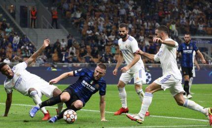 Champions, Inter-Real Madrid 0-1 nerazzurri beffati all'89'