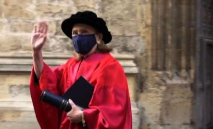 Laurea ad honorem per Hillary Clinton a Oxford