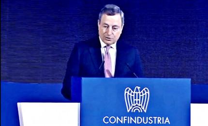 Draghi: governo non aumenterà tasse. Serve patto per il Paese