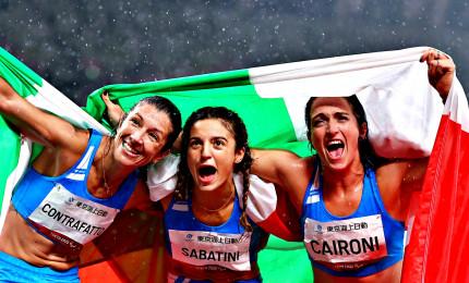 Paralimpiadi, Sabatini oro e record del mondo. Cairolo argento e Contraffatto bronzo