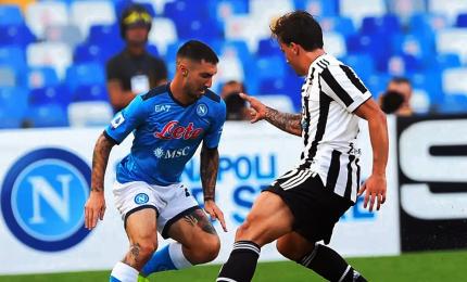 Napoli-Juventus 2-1, gli azzurri vincono in rimonta