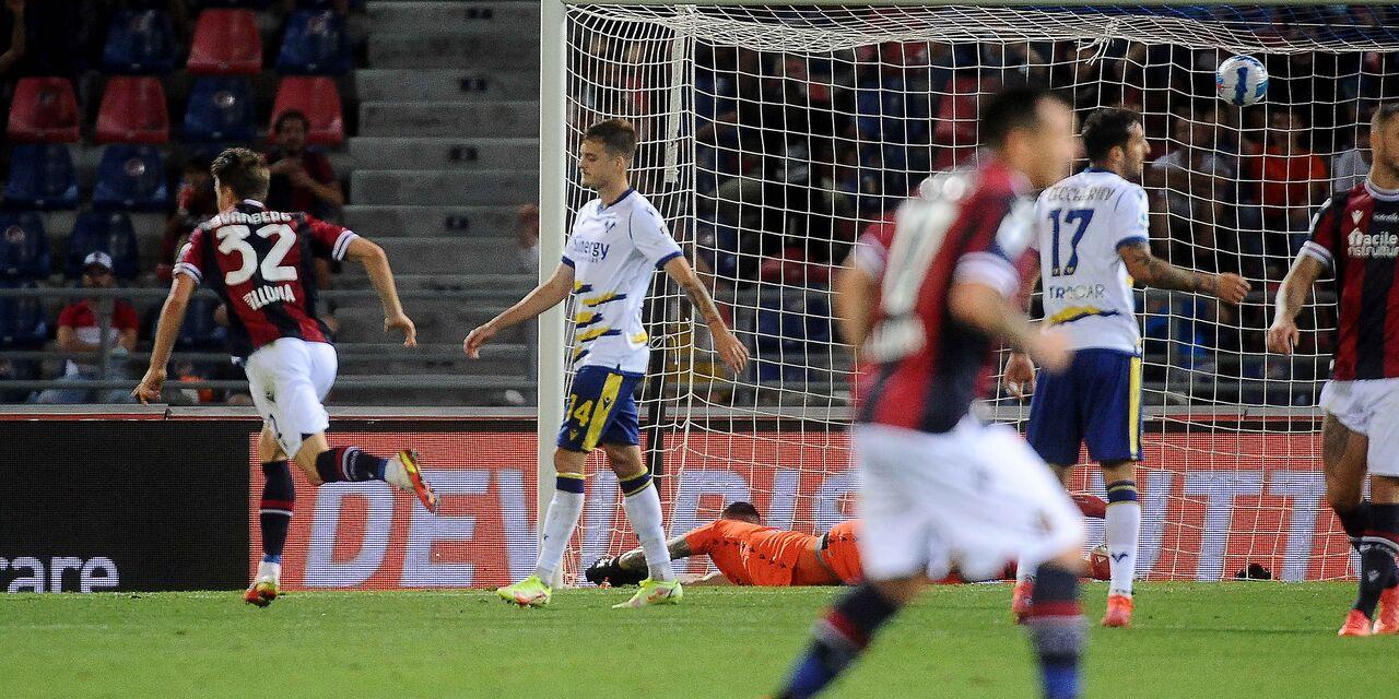 Bologna-Verona 1-0, la risolve Svanberg