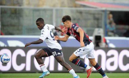 Bologna-Genoa 2-2, quattro gol, due rigori Miha espulso