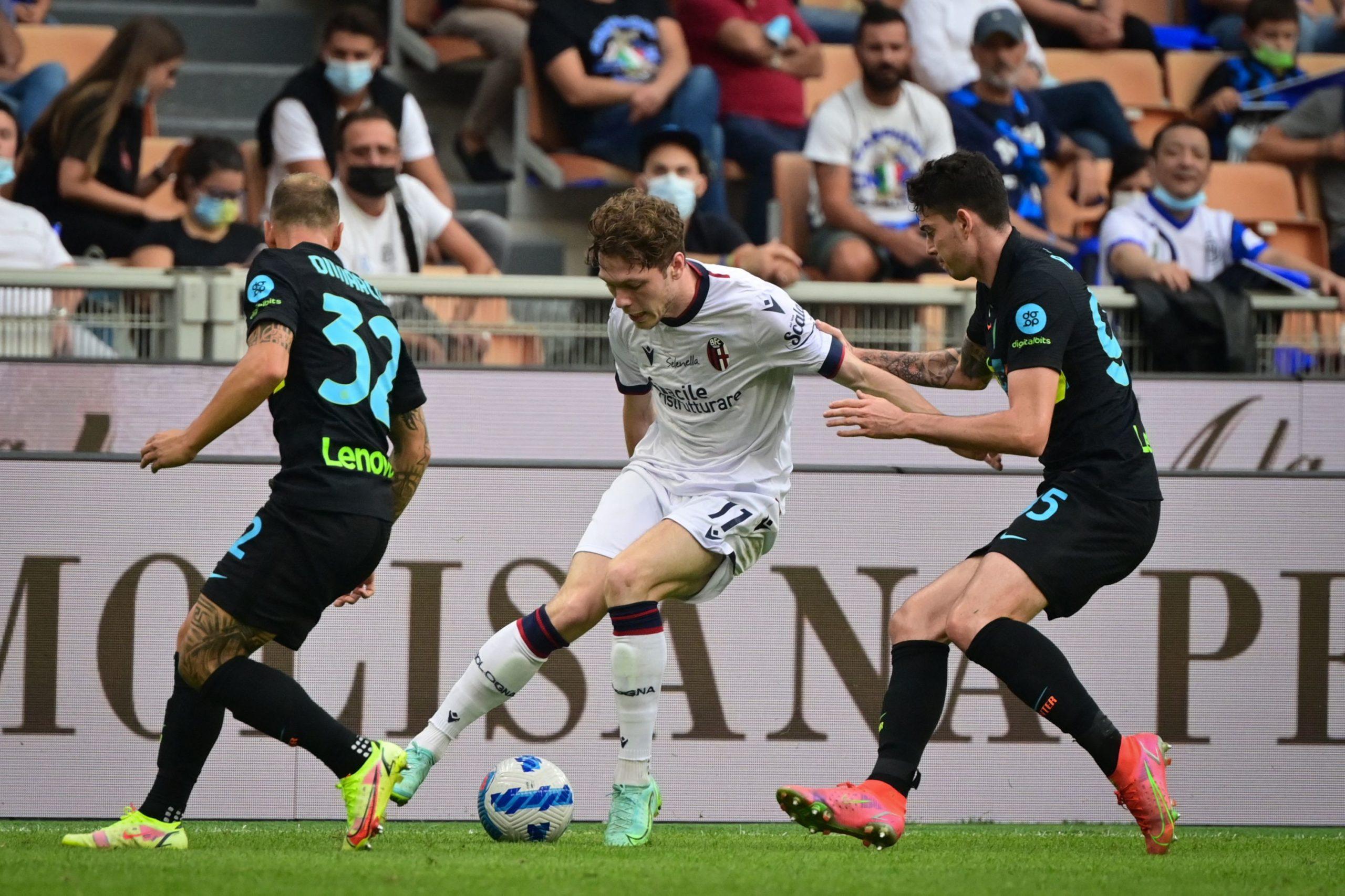 Inter travolgente: 6 gol al Bologna, doppietta Dzeko