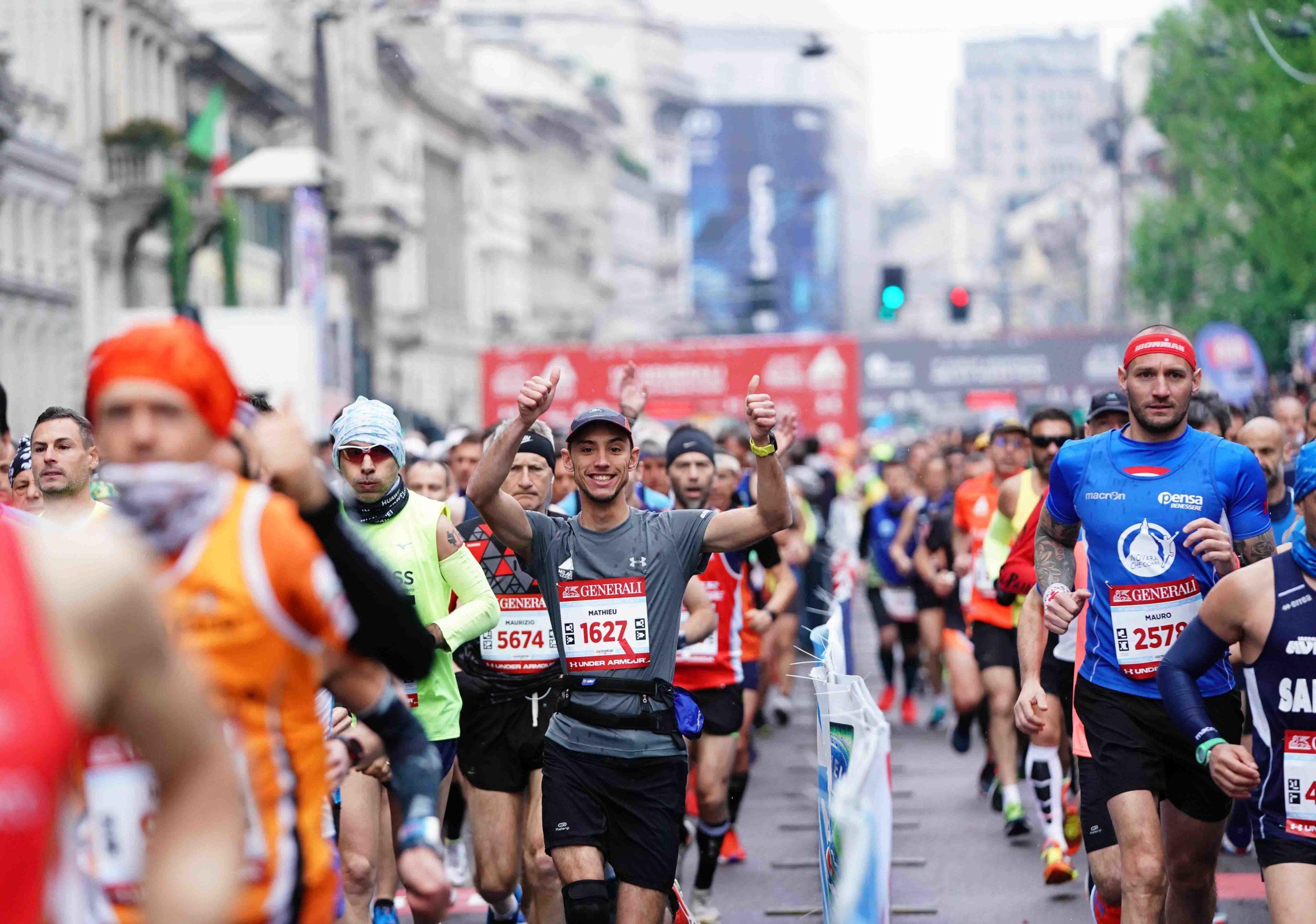 Maratona Roma, oltre 2mila atleti provenienti da 60 Paesi