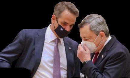 Draghi a vertice EuMed. Focus su migranti, sicurezza e clima