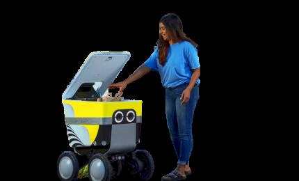 Arriva robot delivery per la spesa e gli acquisti pesanti