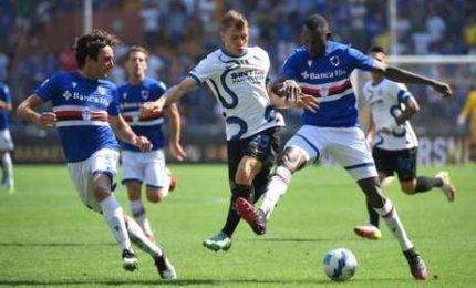 Sampdoria-Inter 2-2, nerazzurri due volte rimontati