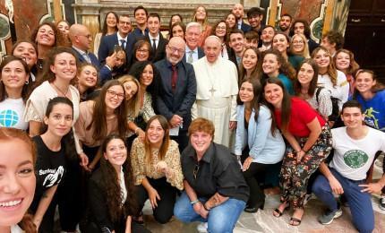 Papa incontra delegazione di 50 ragazzi dell'Earth Day. E Cingolani