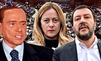 """Vertice a Roma tra Berlusconi-Salvini-Meloni: """"Centrodestra compatto per le prossime elezioni"""""""