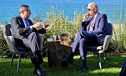 Italia-Usa, Biden a Palazzo Chigi da Draghi venerdì 29 ottobre