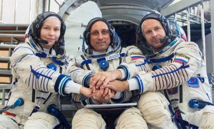 Un film russo vince la corsa allo spazio: in orbita equipaggio