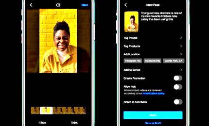Ora è più semplice creare video su Instagram